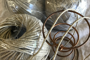 Stitching Twine – Linen Flax